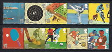 GB mint stamps - 2010 Olympic and Paralympic Games London 2012, SG3097/3106, MNH