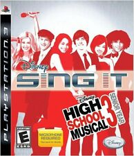 Disney Sing It: High School Musical 3 - Senior Year (PlayStation 3, 2009) NEW