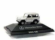 Herpa CAR MB 300 GE Mercedes Edition 1/87 H0 in display case without