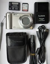 Panasonic LUMIX DMC-TZ6EG-S 10.1MP Digital Camera - Silver