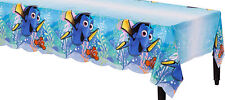 Finding Dory Party Supplies TABLE COVER / TABLE CLOTH 54 x 96 Inch Plastic