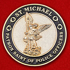 """Challenge coin """"the Patron of police Archangel Michael"""""""