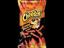 2 Bags XXTRA Flamin' Hot Cheetos 3.5 oz Crunchy Flamin' Hots WOW