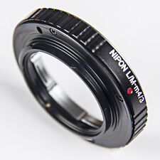 NEW Leica M L/M Lens To M43 Micro 43 4/3 M4/3 Olympus EP1 EP2 E-PL1 Adapter