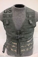 MOLLE II Fighting Load Carrier Vest ACU CAMO LBV FLC Tactical US Army Good