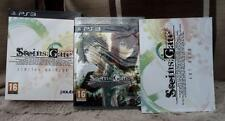 PS3 STEINS GATE art book LIMITED EDITION game playstation 3