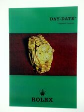 Genuine Vintage Rolex 1803 Day-Date/President Pamphlet 1969 -EXCELLENT CONDITION
