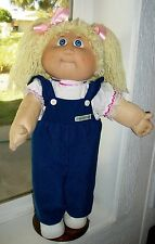 CABBAGE PATCH KIDS 1982 JESMAR GIRL NEW VTG RUFFLE OVERALLS SHOES DIAPER