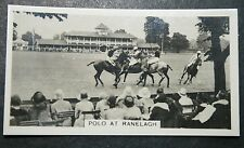 Polo   Challenge Cup Action  Ranelagh   Vintage Photocard # VGC