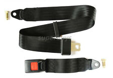Quick Release Adjustable Car Bus Seat Belt 120cm Safe Lap Two 2 Point Seatbelt