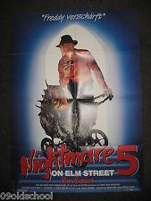 NIGHTMARE IN ELM STREET 5 DAS TRAUMA HORROR Robert Englund Lisa Wilcox