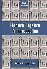 Modern Algebra : An Introduction by John R. Durbin (2008, Hardcover)