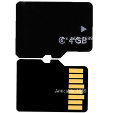 4GB Micro SD Micro SDHC TF Flash Standard Memory Card with Adapter for Phones