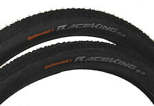 2 X Continental Race King 26 X 2.2 MTB Mountain Bike Cross Country tyre (Wired)