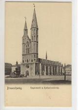 AK Braunschweig, Hagenmarkt, Katharinenkirche, 1905