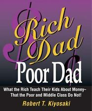 Rich Dad, Poor Dad: What the Rich Teach Their Kids About Money That-ExLibrary