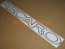 "30""76.2cm RECARO windshield sunstrip decal sticker window JDM USDM evo civic gtr"