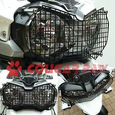 Triumph Explorer, Tiger 800 XC & ABS Black Stainless Steel Headlight Protector