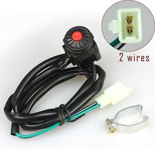 DIRT PIT BIKE MOTORCYCLE UNIVERSAL KILL SWITCH 2 WIRES