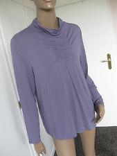 Bonita traumhaftes Shirt XL 44/46   lila  langarm