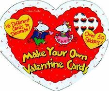NEW Make Your Own Valentine Cards WD42819
