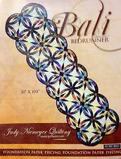 Judy Niemeyer BALI Bedrunner Foundation Paper Pieced Quilt Pattern