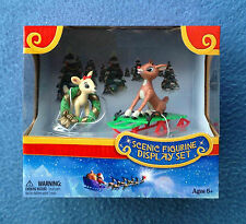 WINTER FUN SCENIC FIGURINE PLAYSET RUDOLPH THE RED-NOSED REINDEER FOREVER FUN