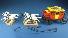Timpo Toys-sobre país carruaje-Wells Fargo-Overland coach-diligencia 2