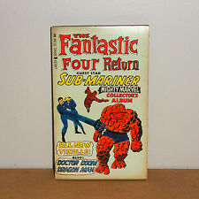 The Fantastic Four Return. Lancer Book. 1967 . Jack  Kirby - FN / VF
