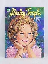 VINTAGE Shirley Temple 1976 Paper Doll Book - Whitman #1986 - Unused Collectable