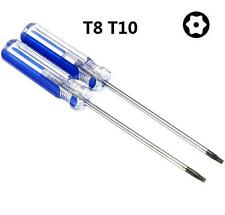 2 Size Security Tamper Proof Repair Tool Torx T8 &T10 Screwdrivers For Xbox PS3