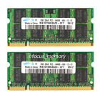 New Samsung 4GB 2X2GB PC2-6400 DDR2-800 800Mhz 200pin Sodimm Laptop Memory
