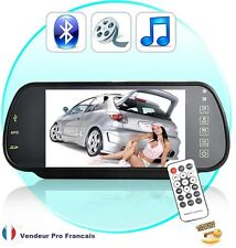 Retroviseur Voiture kit main libre bluetooth camera de recul MP3 MP4 MP5 FM 2
