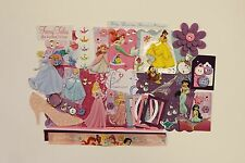 Disney Princesses Chipboard Mini Book Album Kit (Scrapbook)