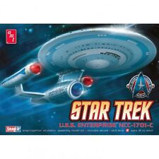 AMT Star Trek USS Enterprise NCC-1701-C 1:2500 Cadet Series Model Kit