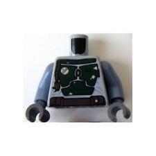 LEGO 9496 - Minifig, Torso Star Wars Armor Plates Green Pattern (Boba Fett)
