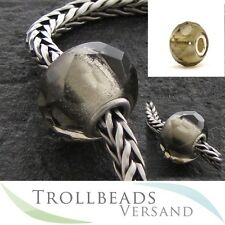 TROLLBEADS Glasbeads Graues Prisma - Grey Prism 60183 - RETIRED
