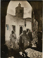 PHOTO NEW YORK TIMES + mars 1936 + TUNIS + Minaret