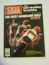 November 1986 Cycle Guide - The Best-Handling Bike You Can Buy (BD-48)