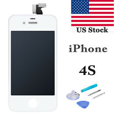 Replacement LCD Display Touch Screen Digitizer Glass Assembly for iPhone 4S