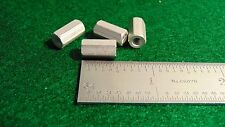 "(4) Concord Aluminum Threaded Stand-off 1/4""Hex 1/2""L 6x32 NOS"