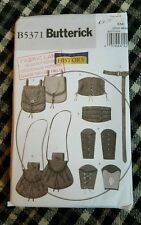Butterick 5371 sewing pattern gauntlet larp fantasy role play accessories
