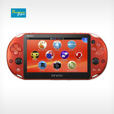 Sony PCH-2000ZA26 Playstation PS Vita Wi-Fi Metallic Red Console Japan Model New