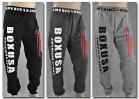 BOXUSA SPORTHOSE Unisex Jogginghose Fleece Fitness Training Hose Tanzen 1201