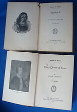 Jacob Abbott 1901 Makers of History Charles I Mary Queen of Scots
