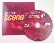 Harry Potter SCENE IT! Game~DVD & Sleeve Only