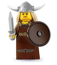Lego 8831 Series 7 Minifig - Viking Woman
