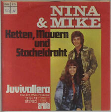 "7"" Single - Nina & Mike - Ketten, Mauern Und Stacheldraht - s503"