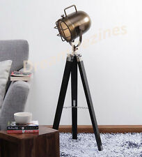 Designer Marine Tripod Floor Lamps Searchlight Vintage Floor Spot SpotLight