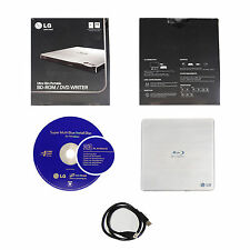 LG CP50NS20 Portable External Ultra Slim Blu-ray BD ROM Reader CD DVD RW Burner